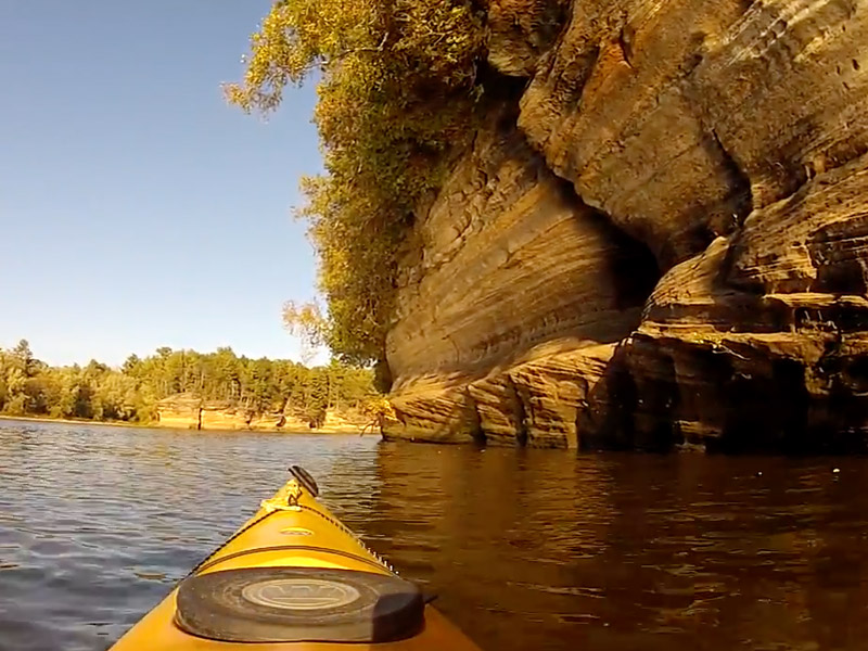 Wisconsin River Lower Dells