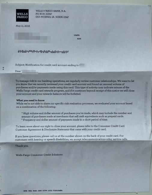 Warning Letter. U201c