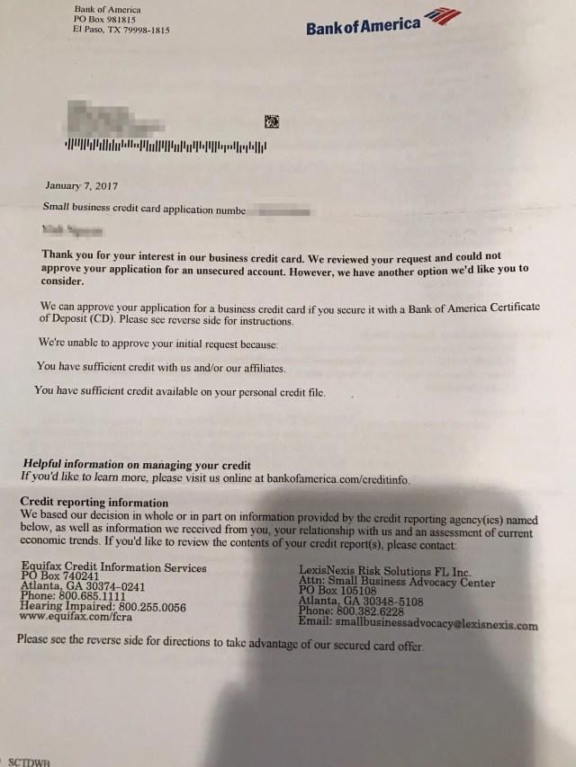Boa Travel Rewards Card Reddit