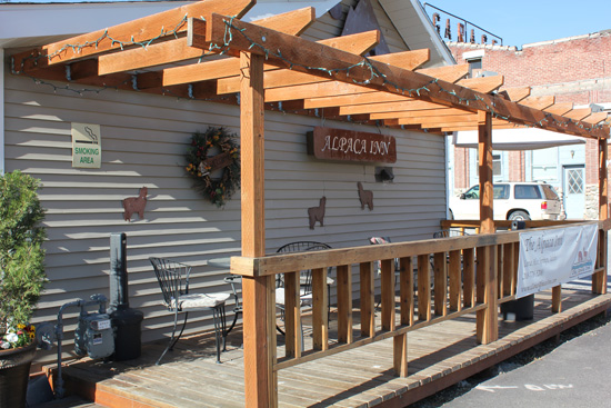 Alpaca Inn in Lava Hot Springs, Idaho