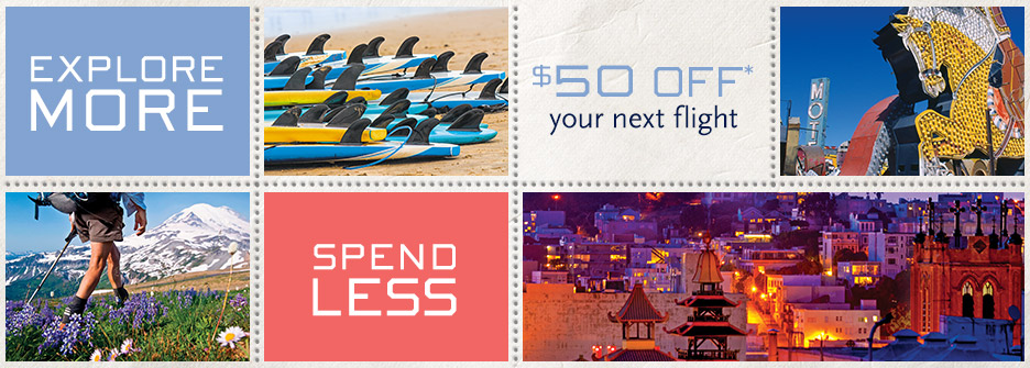 $50 off your next flight