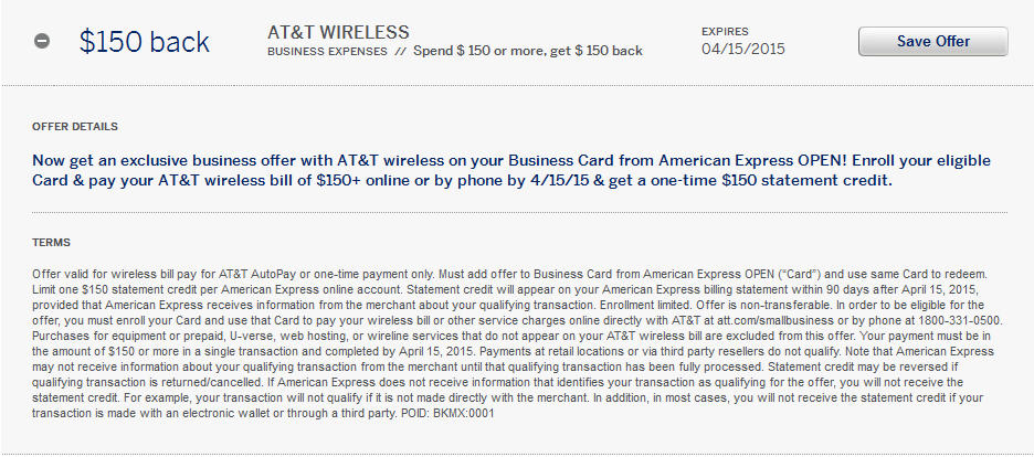An amazing AT&T offer