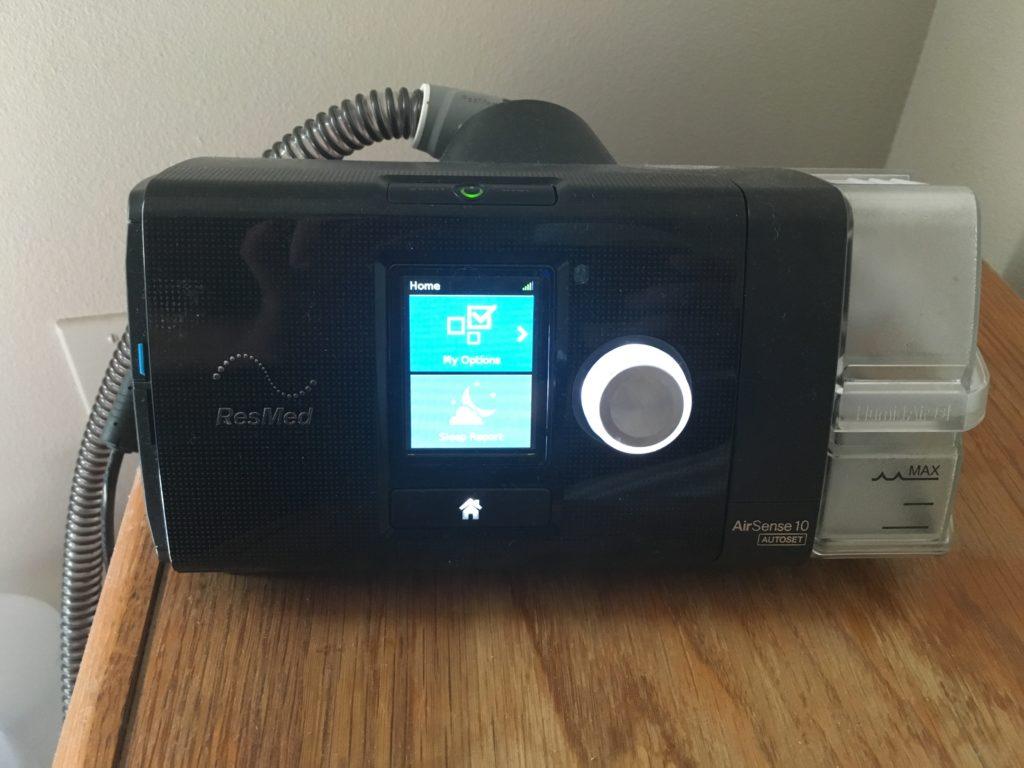 A CPAP machine