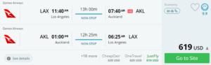 Flights to Australia & New Zealand,