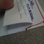 24 Fold post