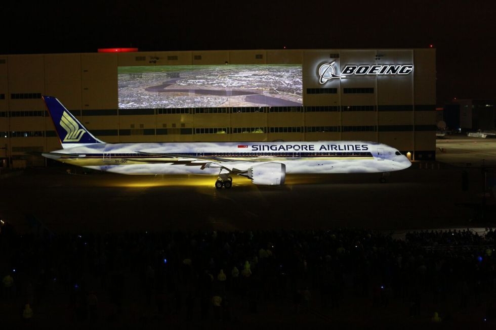 SIA takes delivery of 787-10 at a ceremony in North Charleston, South Carolina_preview