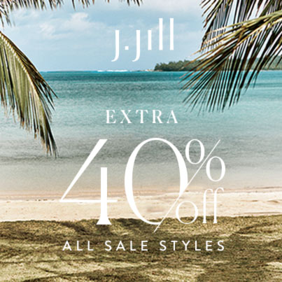 J. Jill – Extra 40% OFF Sale Styles* – Ends Sunday June 20, 2021