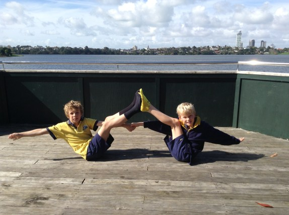 boys yoga