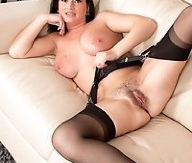 Classy Milf In Heels And Stockings Gets Nude On Camera For The First Time