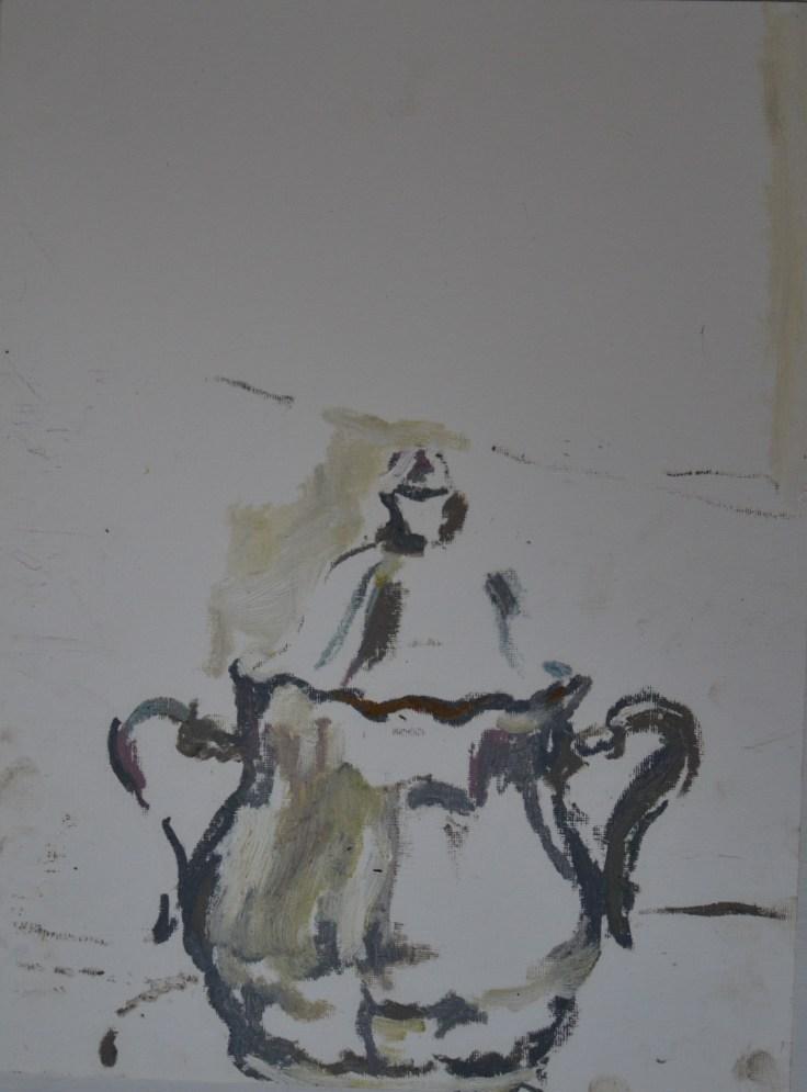"""Sugar"", 2012 Oil on pastel 30.5x40.5cm"