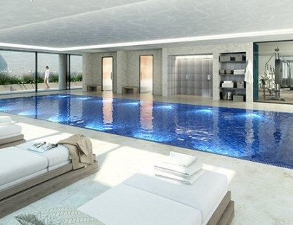 Pool and Spa Areas