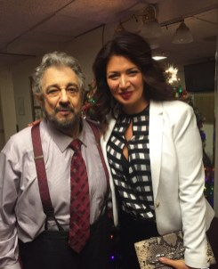 With Maestro Domingo