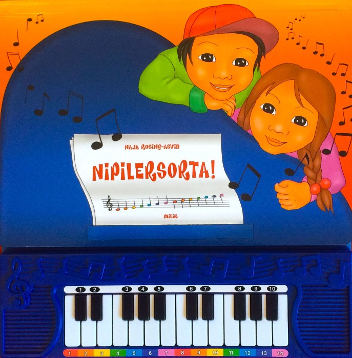 Musikbog, klaver, Naja-Rosing Asvid, grønland, milik