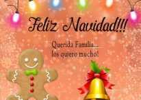 Imágenes y tarjetas de Navidad con dedicatorias para la familia