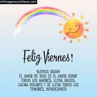 Imágenes de feliz Viernes con frases para descargar gratis