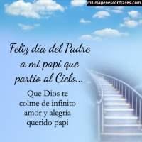 Imágenes del día del Padre para mi papá que esta en el cielo