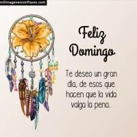 Imágenes de feliz Domingo con frases para descargar gratis