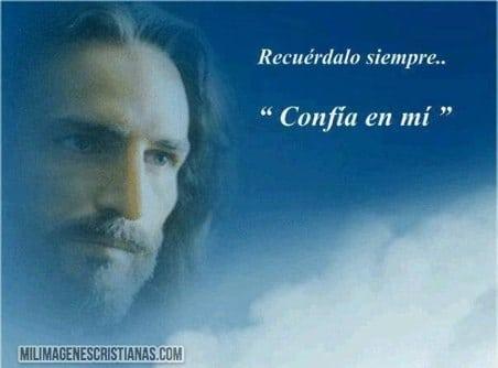 imagenes cristianas de jesus confia en mi
