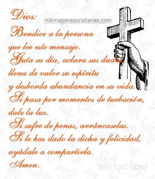 imagenes cristianas bendice a las personas