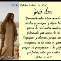 Imágenes cristianas con frases: Jesús dice...