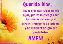 Oración para pedir a Dios que proteja a nuestros hijos