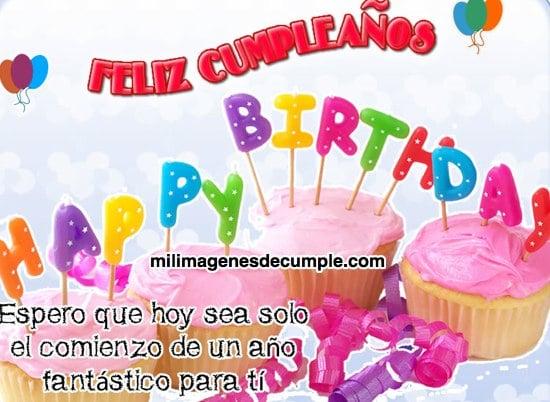imagenes de feliz cumpleaños con frase de buenos deseos