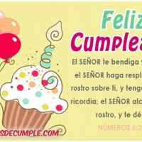 Imágenes de cumpleaños: Que el Señor te bendiga