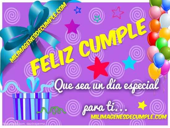 imágenes de cumpleaños que sea un día especial para ti