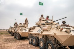 "Saudi Arabian National Guard LAV II during ""Northen Thunder"""