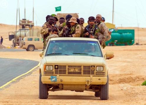 "A Royal Saudi Land Force CUCV II during ""Northern Thunder"""
