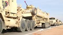 "Egyptian Army YPR-765 PRI IFVs heading for ""Northern Thunder"""