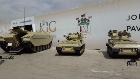 Al-Dawsar APC & The upgraded CVRT with Ukrainian Kastet weapon system turret.