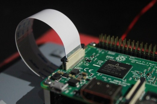 connect ribbon cable to raspberry pi