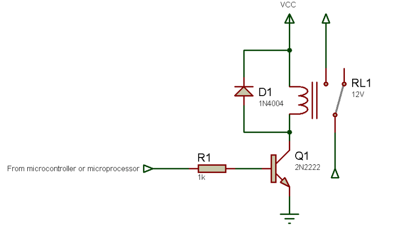 relay driver schematic