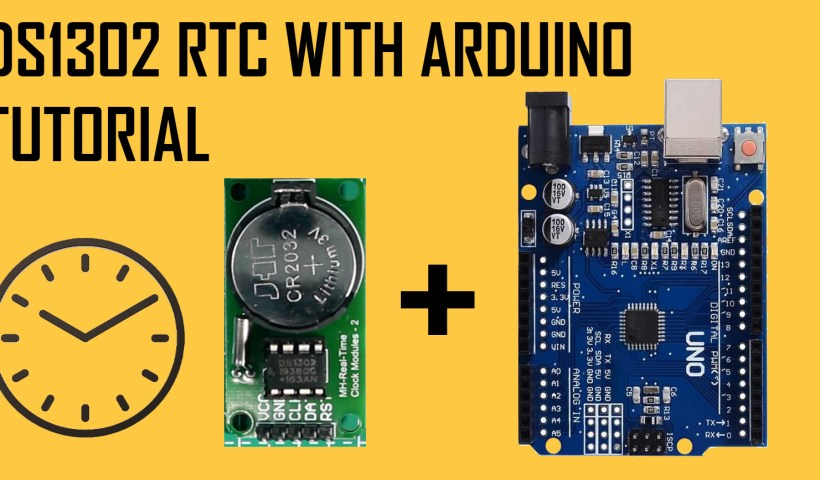 DS1302 RTC with arduino tutorial