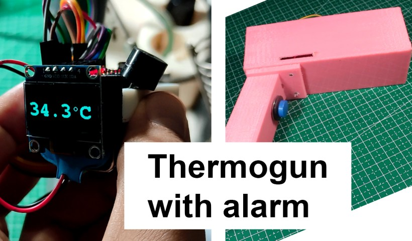 Make your own Thermogun using arduino and mlx90614