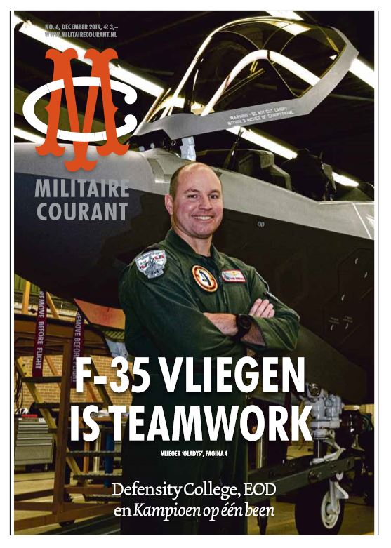 Omslag Militaire Courant editie december 2019