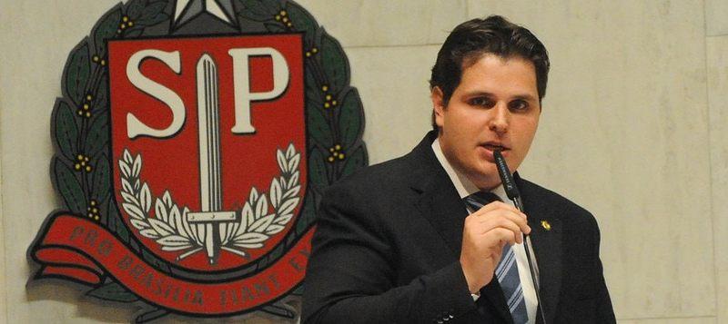 Cauê Macris, do PSDB, presidente da ALESP