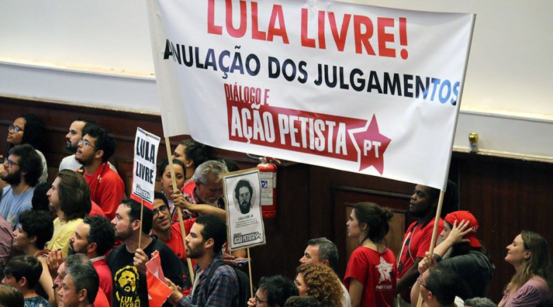 Abertura do 7o Congresso do PT