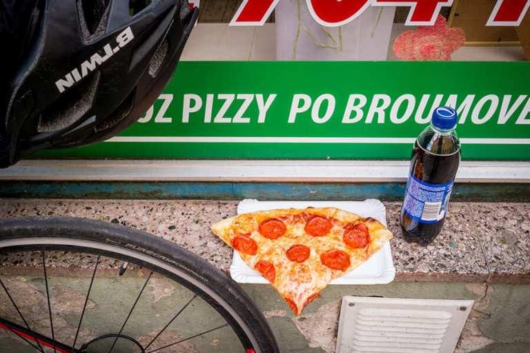 Broumov, najsmaczniejsza pizza