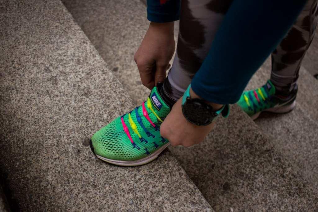 Elastyczne sznurówki Hickies - jak się sprawdzają podczas biegu