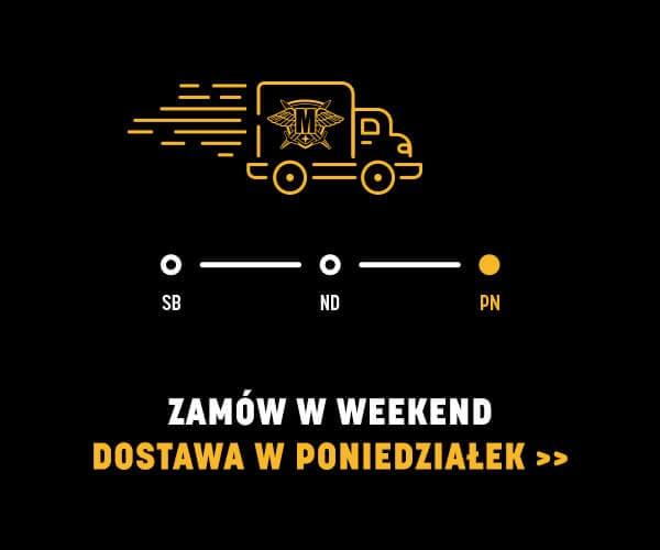 wysyłka w weekendy - odbierz przesyłkę już w poniedziałek
