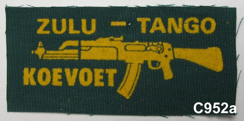 KOEVOET SWA South West Africa ELITE Police SWAPOL Special Force ZULU - TANGO