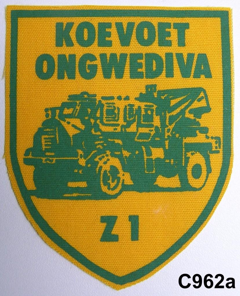 KOEVOET SWA South West Africa ELITE Police SWAPOL Special Force ONGWEDIVA Z1