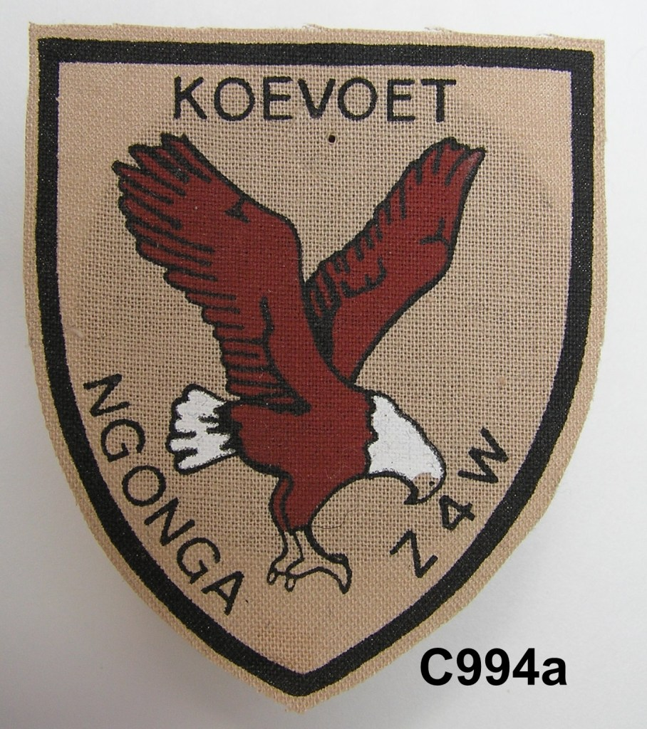 KOEVOET SWA South West Africa ELITE Police SWAPOL Special Force NGONGA Z4W