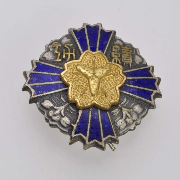 Japan Fire Brigade Merit Medal Order Japanese Army Badge Insignia 9