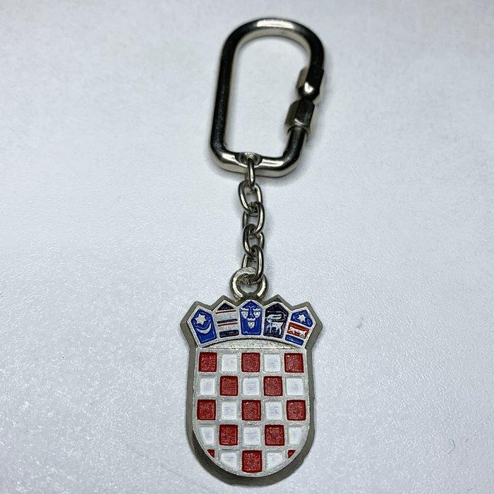 Croatia coat of arms Herzeg Bosnia crest heraldic keychain keyring-1
