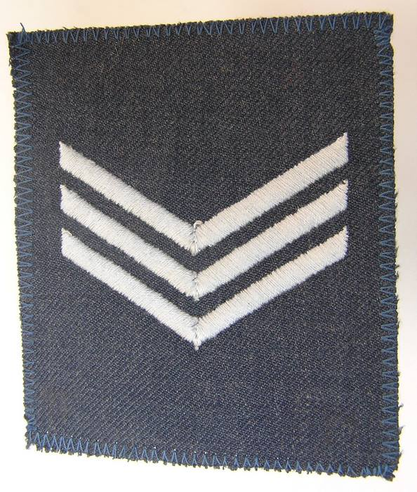 1985 Rhodesian Air Force Sergeant Aircraftsman rank Badge Patch Rhodesia Africa