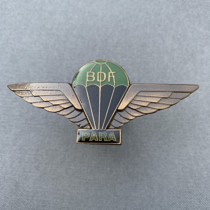BDF Botswana Defence Force Para Wing Badge COMBAT 2