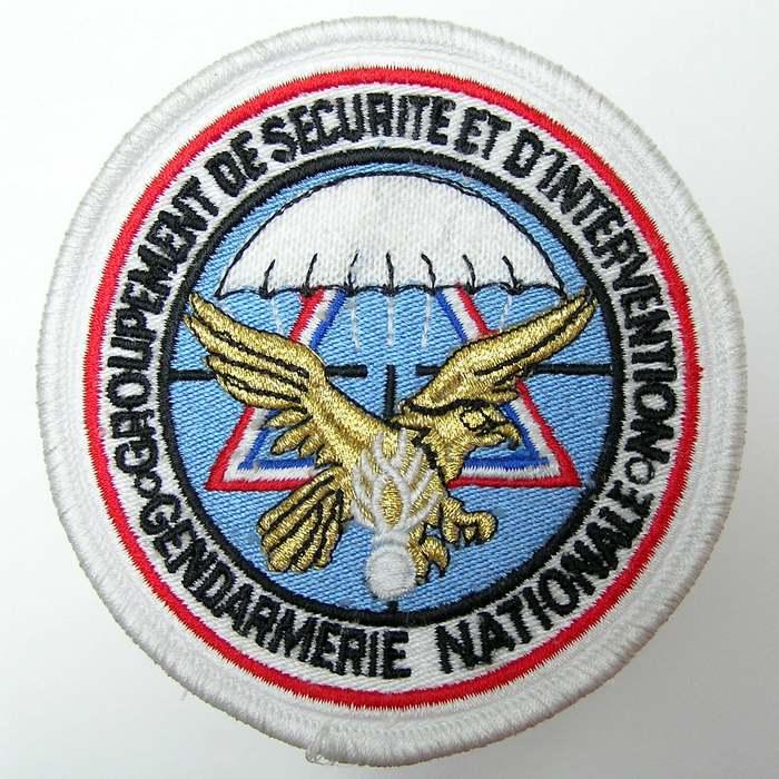 France Parachute Gendarmerie Nationale Securite et Intervention Badge Patch